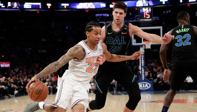 Knicks guard Trey Burke is averaging 26.3 points in three starts.