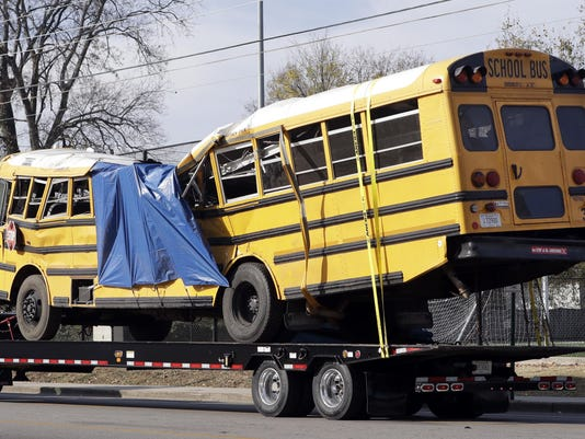 School Bus Crash Tennessee