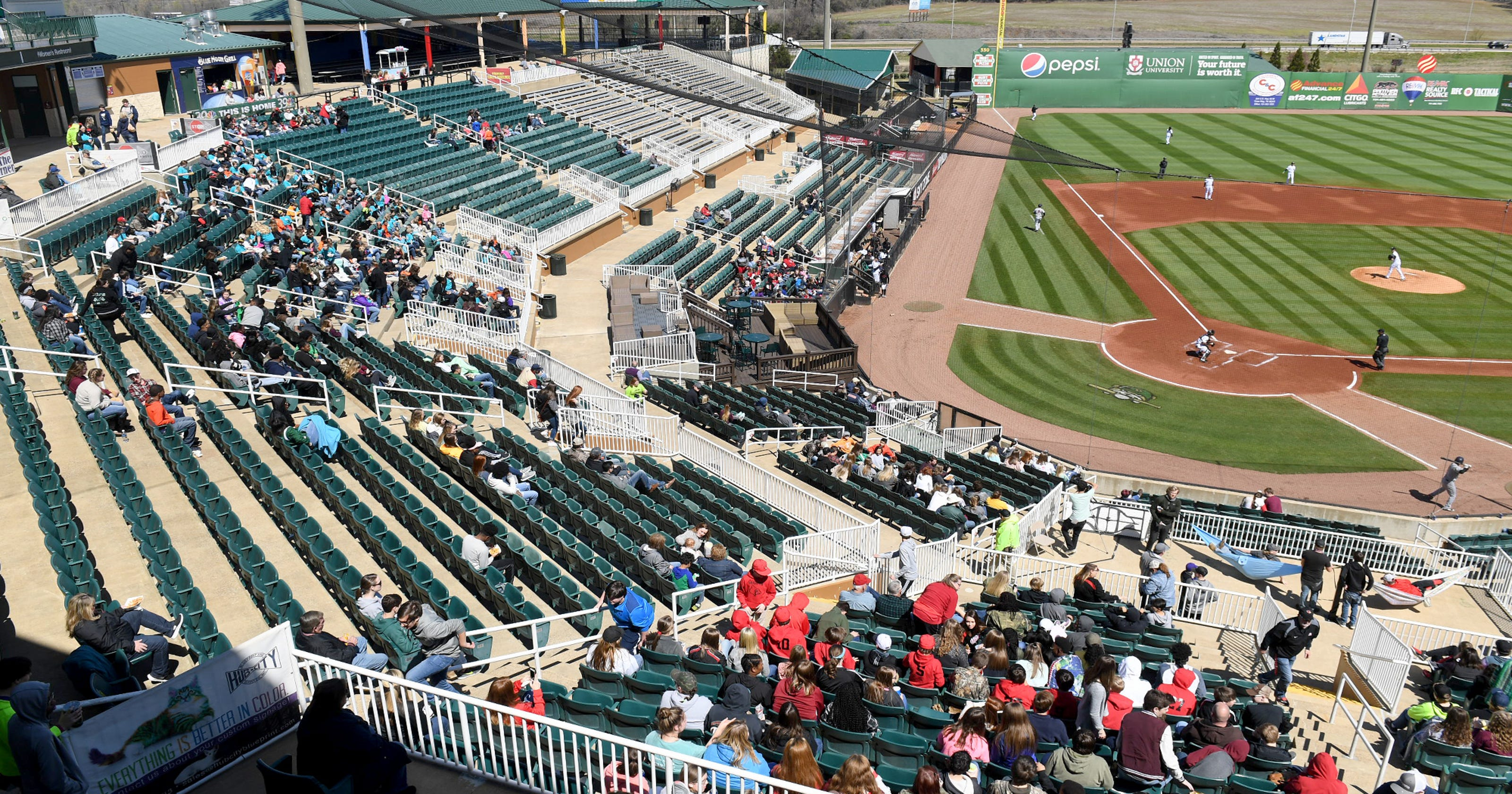 jackson generals try to improve attendance numbers
