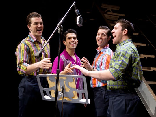 """Jersey Boys"" returns Tuesday to the Fox Cities Performing"