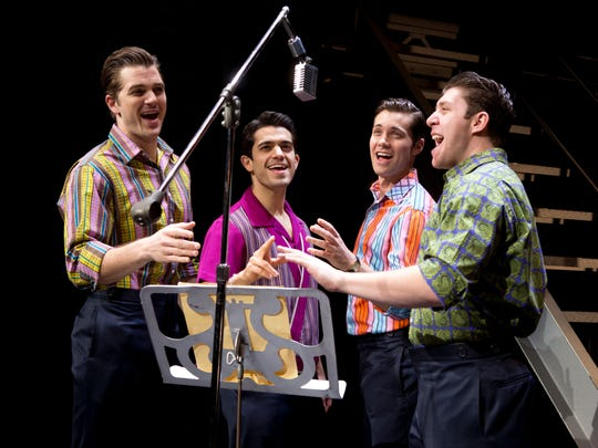 """""""Jersey Boys"""" returns Tuesday to the Fox Cities Performing Arts Center in Appleton. It's the second visit to the PAC for the jukebox musical, which made its Appleton debut in 2011."""