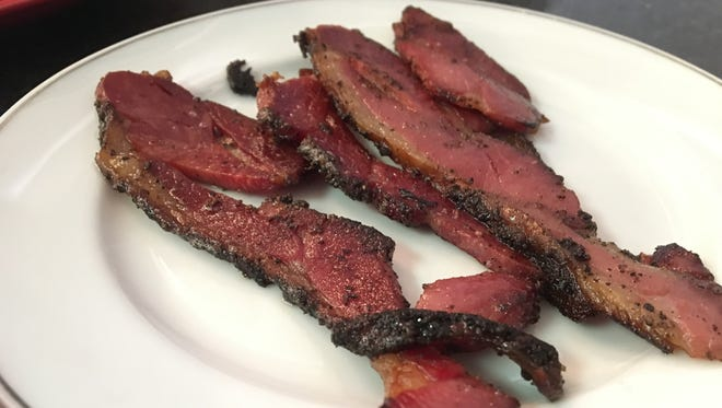 The house-cured bacon from Crave in south Fort Myers.