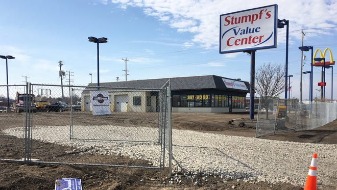 Stumpf's used car lot is getting a redo in Grand Chute.