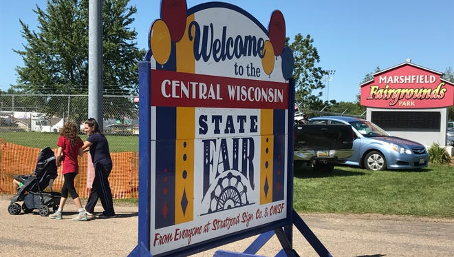 The Central Wisconsin State Fair is held in Marshfield.