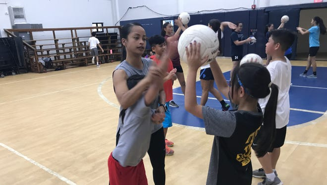 Attack technique will be taught to all ages, even elementary school students will learn the basic skills of volleyball at the 2017 Guahan Volleyball Club Winter Volleyball Camp.