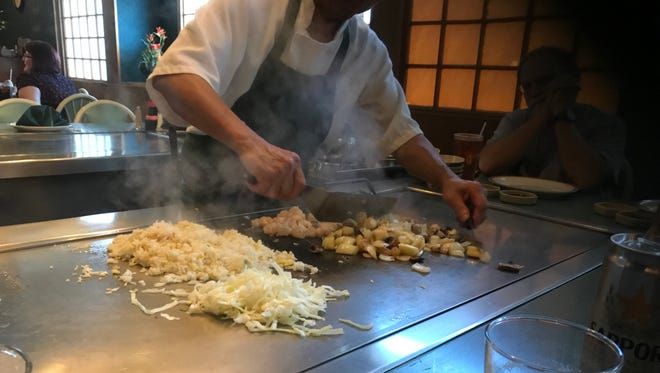 Mt. Fuji Inn at 700 Sagamore Parkway South is a Japanese steakhouse specializing in hibachi cuisine.