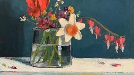 """Westport Art Group is offering a new three-week Zoom class, """"Make Your Composition Compelling,"""" Dec. 1, 8 and 15, 1 to 5 p.m., taught by Judy Vilmain."""