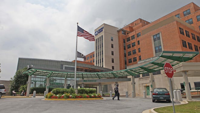 The Wilmington VA Medical Center in Elsmere is shown on June 9, 2014. The Veterans Affairs Department has issued a internal watchdog report regarding patient wait times.