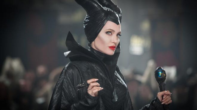 Angelina Jolie is the Disney villainess in Maleficent, currently playing in Mountain Home.