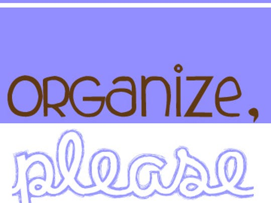 Organize Please