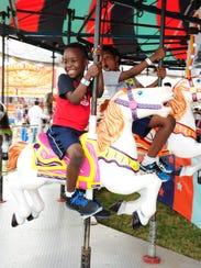 Emmanuel Mumbiro of Westland takes a spin on the Merry