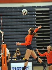 Marisa Gwinner and the Lady Tigers have a tough MOAC
