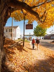 Quaint strolls through the neighborhoods of Connecticut.