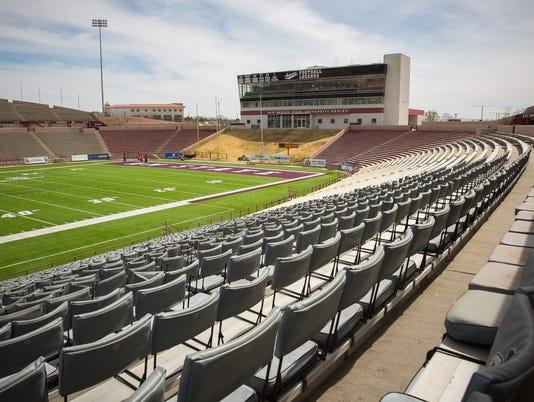 030416 Empty Aggie Memorial Stadium