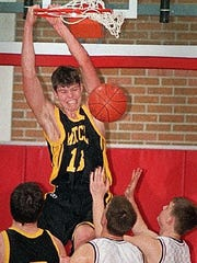 Mike Miller plays for Mitchell in 1998