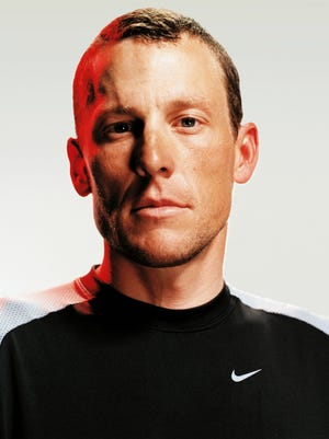 Lance Armstrong was sponsored by Nike throughout his cycling dominance, until the sportswear company dropped him in 2012.