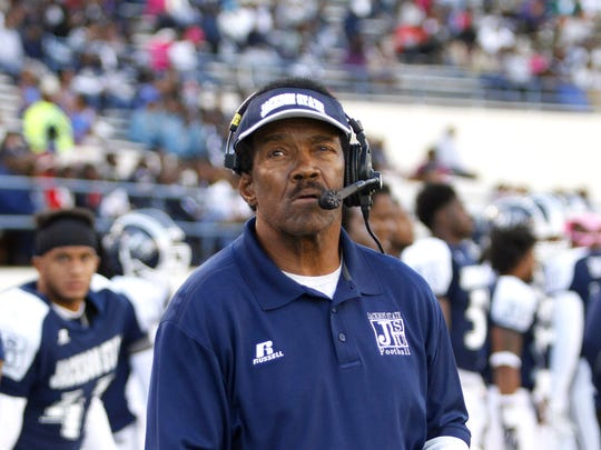 Former Jackson State football coach Harold Jackson had a tumultuous tenure at his alma mater, recruiting just 20 high school seniors in two years.
