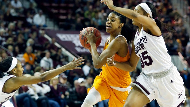 Tennessee guard Diamond DeShields was named first-team All-SEC by the league coaches on Tuesday