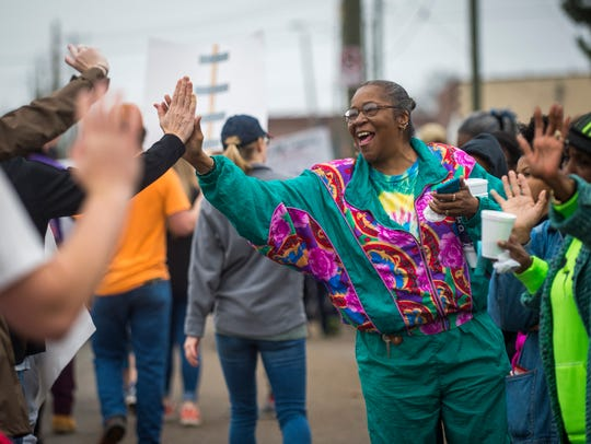 The annual Dr. Martin Luther King Jr. parade travels