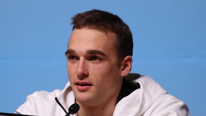Nick Goepper will ski in the men's slopestyle event at the Pyeongchang Olympics.