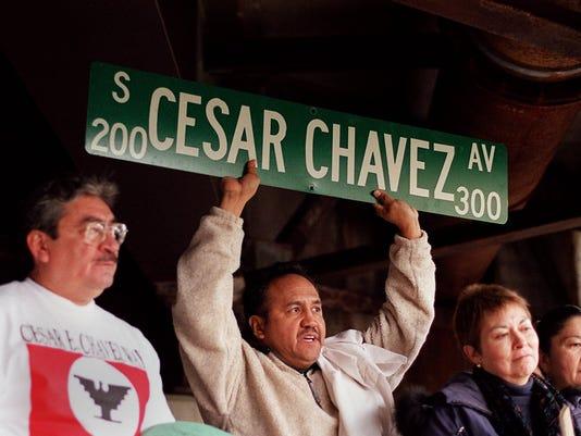 Title: Cesar Chavez Ave