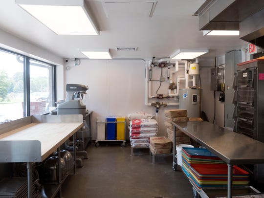 Richy Kreme Do-Nuts' kitchen was expanded last year.