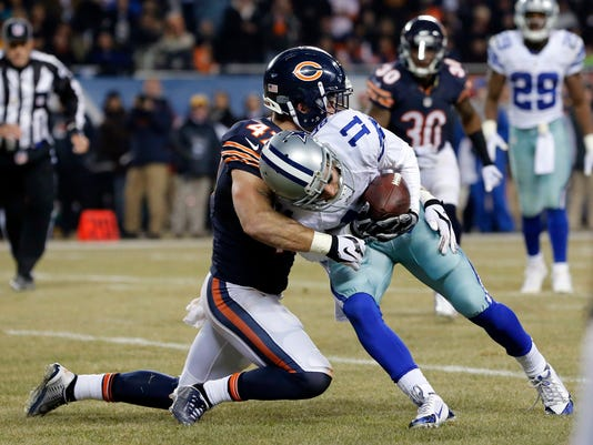 Cole Beasley, Chris Conte