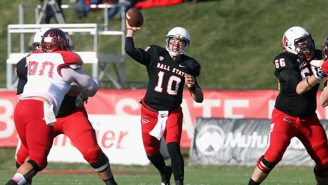 Ball State's Keith Wenning signed with Cincinnati to jumpstart his NFL career.