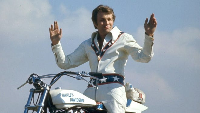A new documentary examines the life of daredevil Evel Knievel.