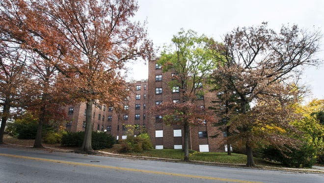 Elm Terrace apartments in York, seen in this 2015 file photo. The York Redevelopment Authority is close to finalizing a sale of the property with a local developer.