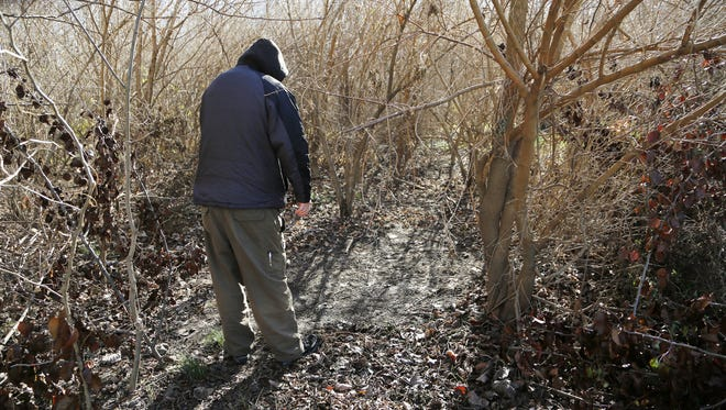 A local homeless man who was displaced last fall after his tent was removed from the woods in West Lafayette, has finally found suitable shelter.