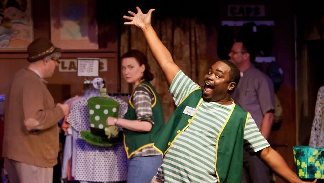 """A scene from Broadway Palm's 2015 production of """"Second Chances: The Thrift Shop Musical."""""""
