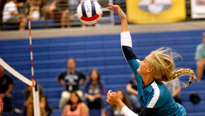 Siegel's Leah Poarch was named to the TSWA All-State Volleyball Team as a Class AAA outside hitter.