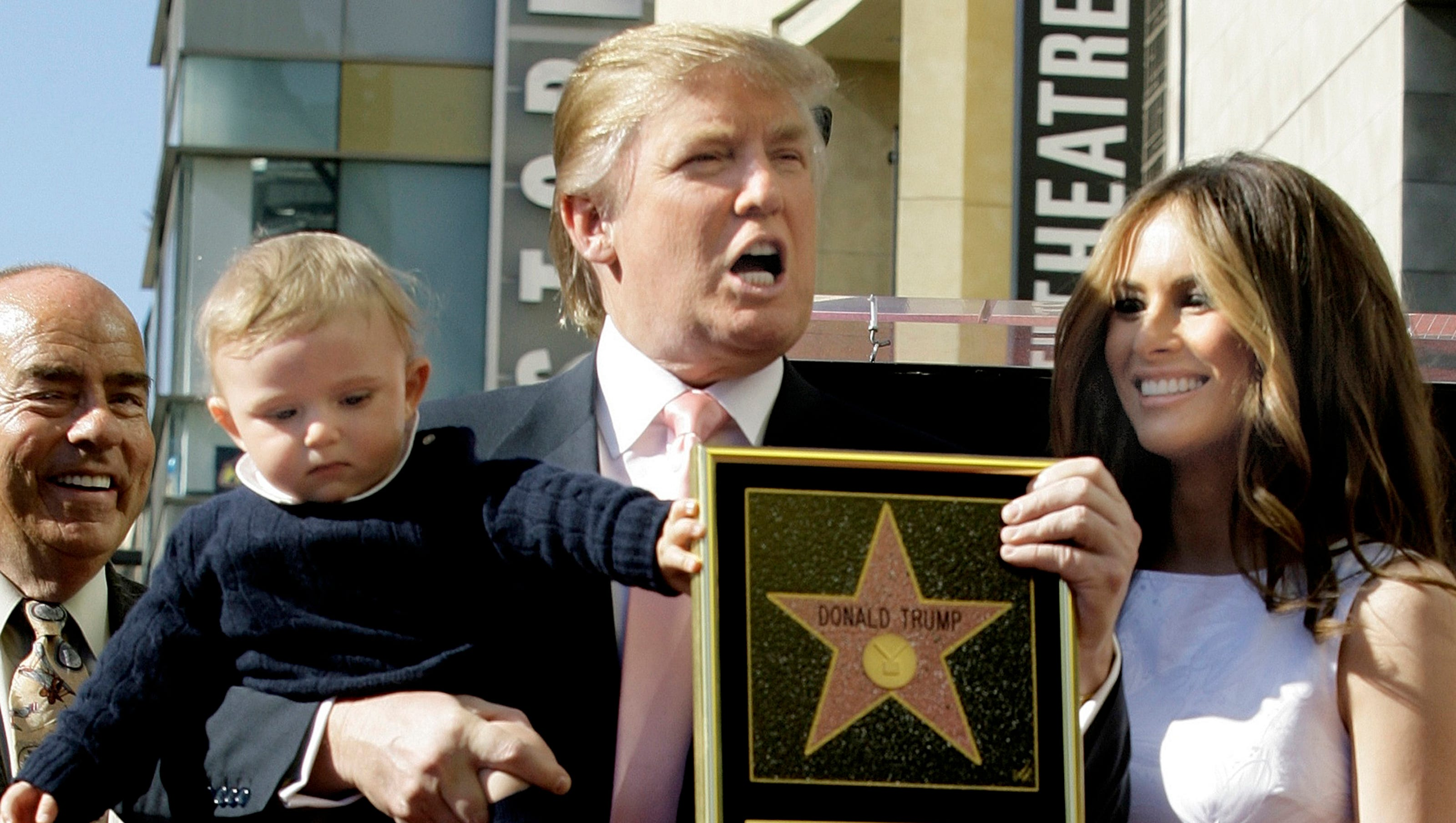 Fake Donald Trump stars appear on Hollywood Walk of Fame, report says