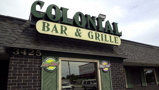 The exterior of the Colonial Bar & Grille is seen in this LSJ file photo.