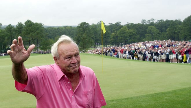 There was a personal connection between Arnold Palmer and his fans and it was epitomized at the Masters.