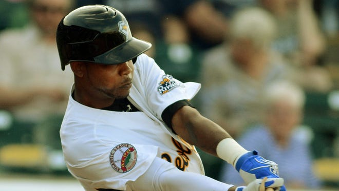 Alonzo Harris homered and drove in two runs Thursday night in the York Revolution's 5-4 victory over Long Island.