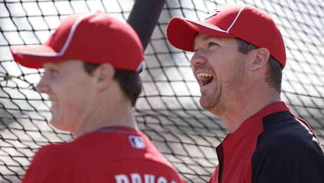 """""""Clubhouse chemist"""" Scott Rolen helped guide the young stars of the 2010 Cincinnati Reds."""