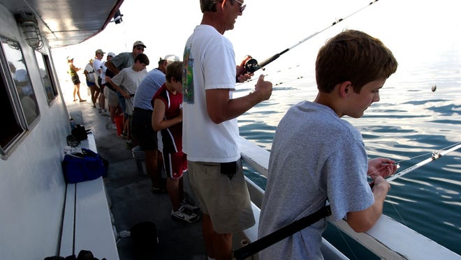 Treat dad to a day on the water.