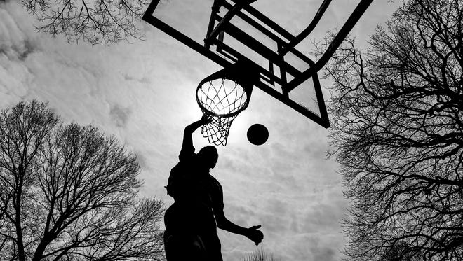 Outdoor Pickup Basketball Games Are Back At Least For A Little While
