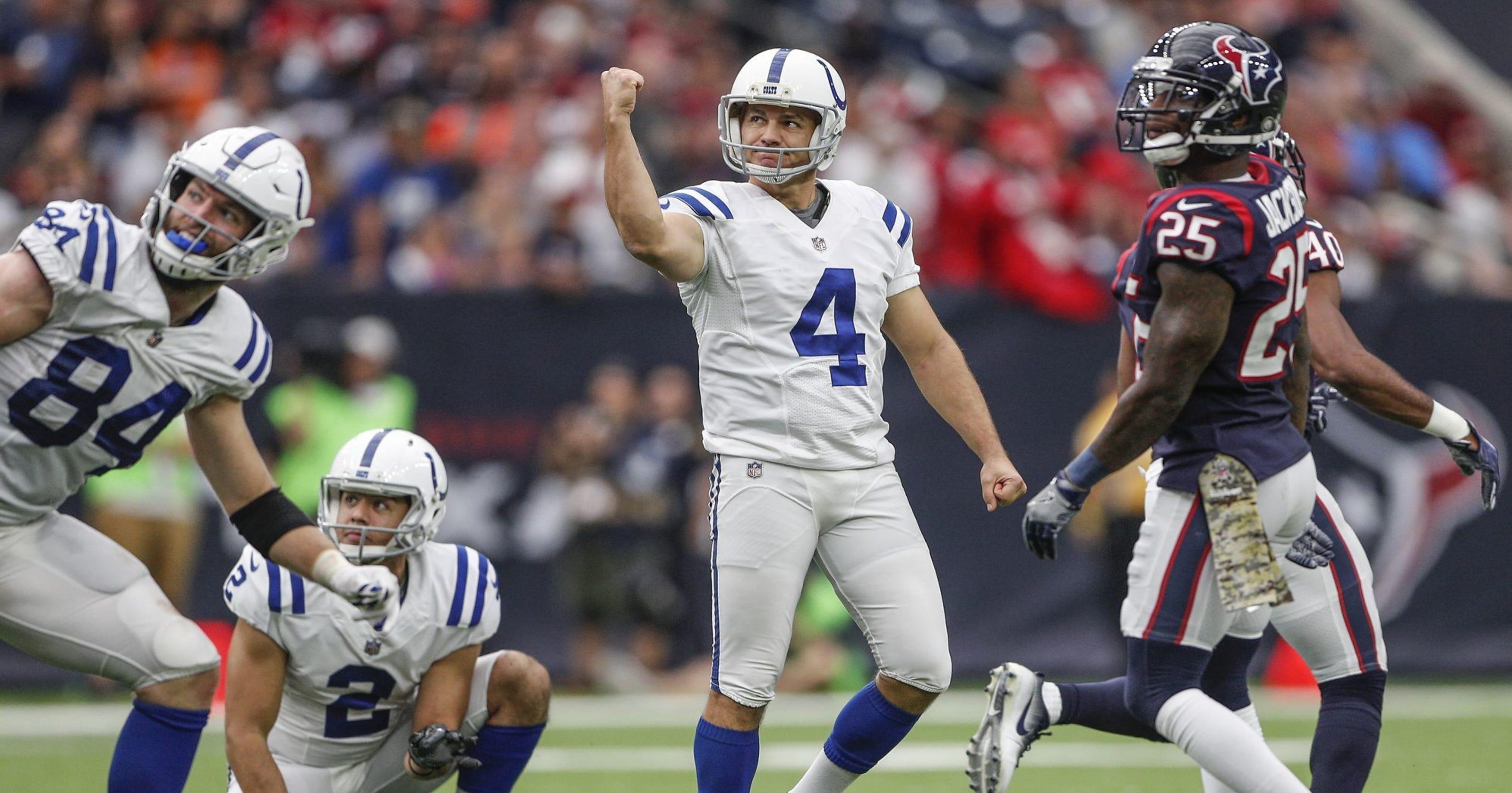7c3f04488 Indianapolis Colts kicker Adam Vinatieri to return for 23rd NFL season