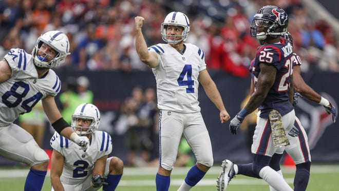With 58 points this season, Adam Vinatieri will become the NFL's all-time leading scorer.