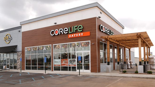 CoreLife Eatery Friday, May 4, 2018, at 105 Farabee Drive South, Suite 100 in Lafayette. The new restaurant featuring healthy menu options opens May 11.