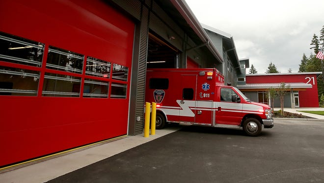 Bainbridge Fire's new Fire Station 21 is now in use.