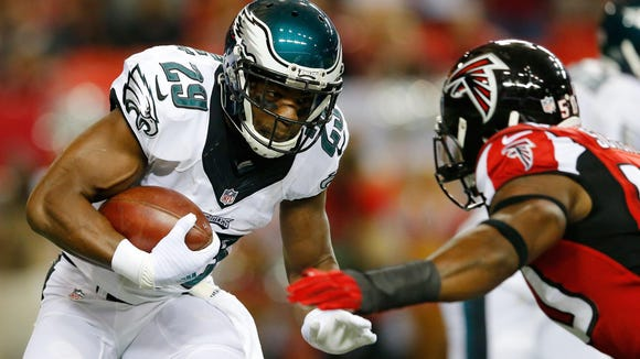 DeMarco Murray rushed for only nine yards in the Eagles' Week 1 loss at Atlanta.