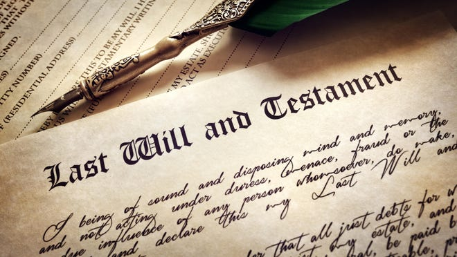 Is a person's last will and testament really the last word?
