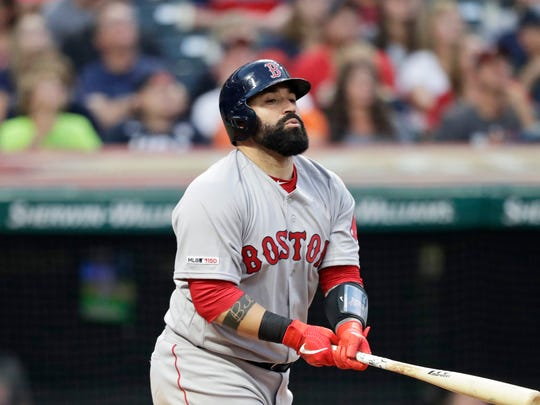 Cleveland acquired reserve catcher Sandy Leon in its offseason efforts to improve.