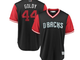 Paul Goldschmidt's jersey for the 2018 MLB Players'