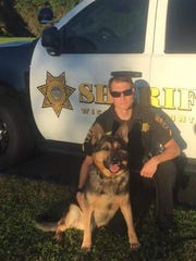 Deputy First Class Matthew Jones and Fiasko