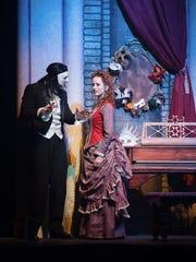 A scene from Broadway Palm's 'Phantom'